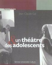 Un théâtre et des adolescents - Intérieur - Format classique