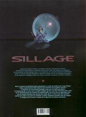 Sillage t.7 ; Q.H.I. - 4ème de couverture - Format classique