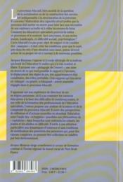 Le processus éducatif ; la construction de la personne comme sujet responsable de ses actes - 4ème de couverture - Format classique