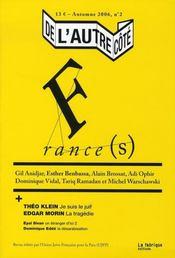 De L'Autre Cote T.2 ; France(S) - Intérieur - Format classique