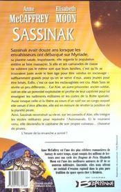 Sassinak - 4ème de couverture - Format classique