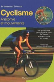 Cyclisme ; anatomie et mouvements - Couverture - Format classique