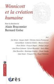 Winnicott et la création humaine - Couverture - Format classique