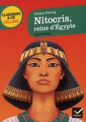 Nitocris, reine d'Egypte - Couverture - Format classique