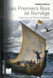 Les premiers rois de Norvège - Couverture - Format classique