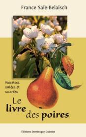 Le livre des poires - Couverture - Format classique