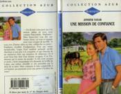 Une Mission De Confiance - Chase A Dream - Couverture - Format classique