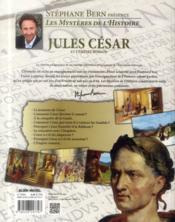 Jules César et l'Empire Romain - 4ème de couverture - Format classique