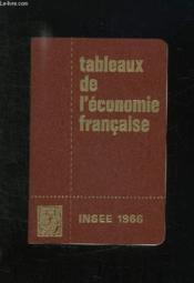 Tableaux De L Economie Francaise. - Couverture - Format classique