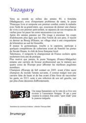 Vazagasy - 4ème de couverture - Format classique