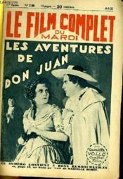 Le Film Complet Du Mardi N° 1140 - 11e Annee - Les Vanetures De Don Juan - Couverture - Format classique