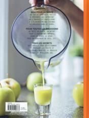 Bar à jus de fruits & légumes ; 60 recettes de jus & de smoothies - 4ème de couverture - Format classique