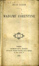 Madame Corentine. - Couverture - Format classique