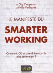 Le manifeste du smarter working - Couverture - Format classique