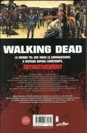 Walking dead T.25 ; sang pour sang - 4ème de couverture - Format classique