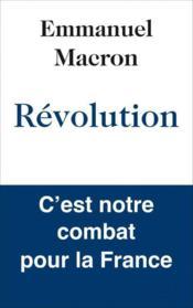 Révolution - Couverture - Format classique