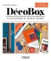Décobox ; couleur & bien-être - Couverture - Format classique