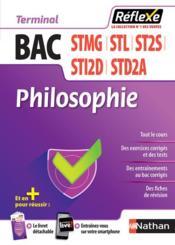 Mémos réflexes T.64 ; bac STMG, ST2S, STL, STI2D, STD2A ; philosophie ; terminale (édition 2018) - Couverture - Format classique