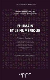 L'humain et le numérique - Couverture - Format classique