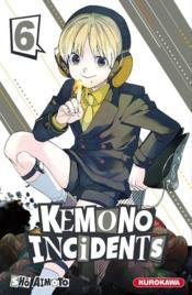 Kemono incidents T.6 - Couverture - Format classique