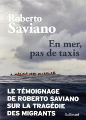 En mer, pas de taxis - Couverture - Format classique