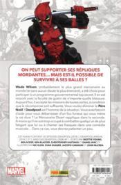Deadpool ; marvel-verse - 4ème de couverture - Format classique