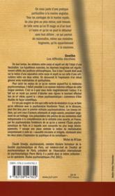 Les modèles psychanalytiques de la psychosomatique - 4ème de couverture - Format classique