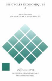 Les cycles économiques t.2 - Couverture - Format classique