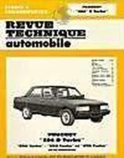 Rta 411.3 peugeot 604 d turbo-grd et srd (1979/1986) - Couverture - Format classique