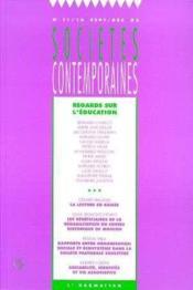Regards Sur L'Education - Couverture - Format classique
