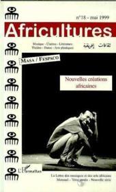 Revue Africultures N.18 Masa -Fespaco Nouvelles Creations Africaines - Couverture - Format classique