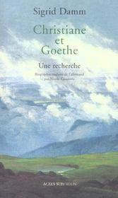 Christiane et goethe - Intérieur - Format classique