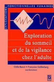 Exploration Du Sommeil Et De La Vigilance Chez L'Adulte - Couverture - Format classique