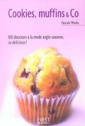 Cookies, muffins & co en 100 recettes - Intérieur - Format classique