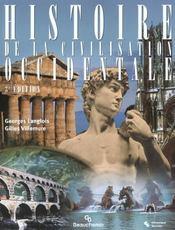 Histoire De La Civilisation Occidentale - Intérieur - Format classique