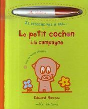 Le petit cochon à la campagne - Intérieur - Format classique