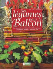 Legumes pour le balcon - Couverture - Format classique