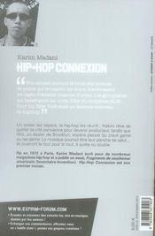 Hip-hop connexion - 4ème de couverture - Format classique