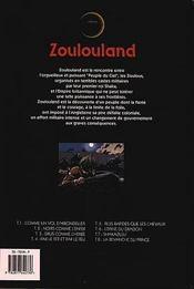 Zoulouland t.8 ; la revanche du prince - 4ème de couverture - Format classique