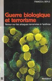 Guerre biologique et terrorisme - Intérieur - Format classique