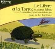 Le lièvre et la tortue ; et autres fables - Couverture - Format classique