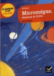 Micromégas ; Jeannot et Colin - Couverture - Format classique