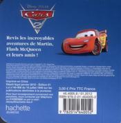 Cars 2 ; mon p'tit cube - 4ème de couverture - Format classique