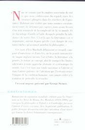 CONTRETEMPS ; l'attention romanesque ; écrits sur la philosophie et la littérature - 4ème de couverture - Format classique