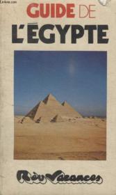 Guide De Legypte. - Couverture - Format classique