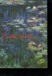 Claude Monet. - Couverture - Format classique