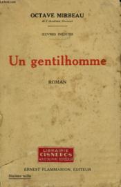 Oeuvres Inedites . Un Gentilhomme. - Couverture - Format classique