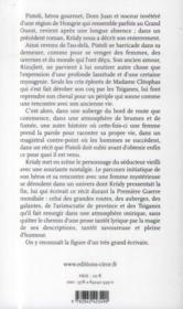 Le coq de madame Cleophas - 4ème de couverture - Format classique