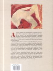 Rodin ; les métaphores du génie - 4ème de couverture - Format classique