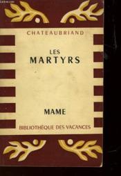 Les Martyrs - Couverture - Format classique
